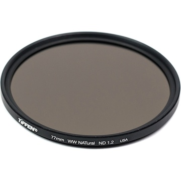 Tiffen 77mm Water White Glass NATural IRND 1.2 Filter (4-Stop)