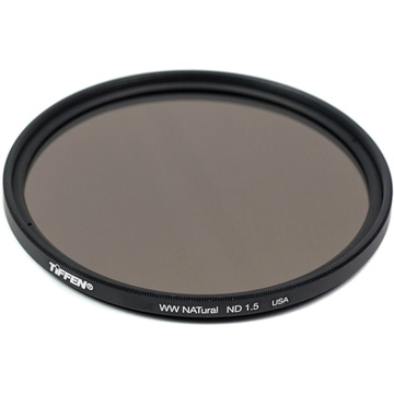 Tiffen 82mm Water White Glass NATural IRND 1.5 Filter (5-Stop)