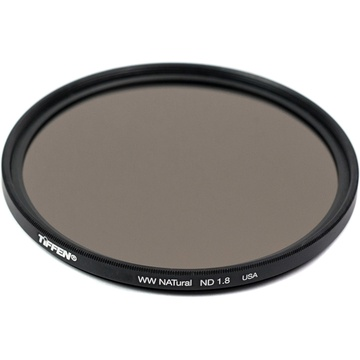 Tiffen 82mm Water White Glass NATural IRND 1.8 Filter (6-Stop)