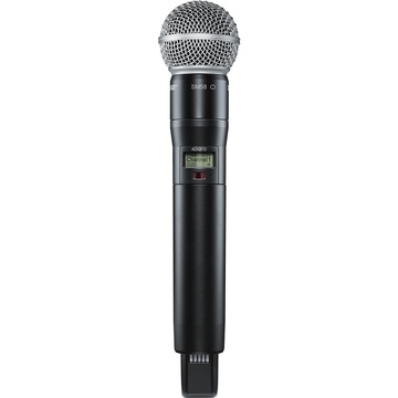 Shure ADX2FD/SM58 Digital Handheld Wireless Microphone Transmitter with SM58 Capsule