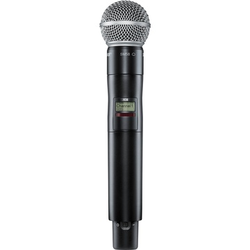Shure AD2/SM58 Digital Handheld Wireless Microphone Transmitter with SM58 Capsule