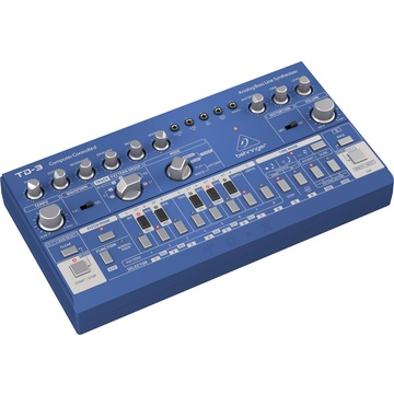Behringer TD-3 Analog Bass Line Synthesizer (Blue)