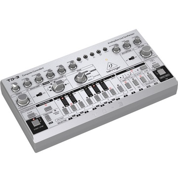 Behringer TD-3 Analog Bass Line Synthesizer (Silver)