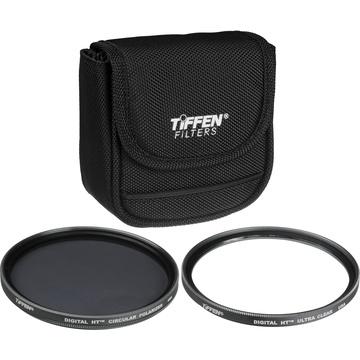 Tiffen 55mm Digital Twin Pack Filter Kit