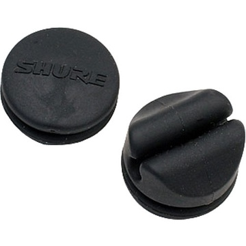 Shure Boom Holder and Logo Pad for WBH53 Omnidirectional Head-Worn Microphone (Set of 2) (Black)