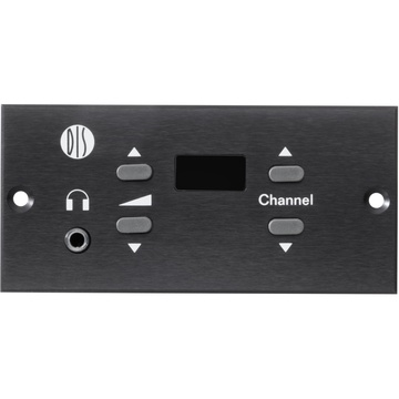 Shure CS 6340 F Compact Flush-Mounted Channel Selection Unit for DCS 6000 (Horizontal)