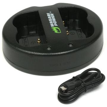 Wasabi Power Dual USB Battery Charger For Nikon EN-EL3E