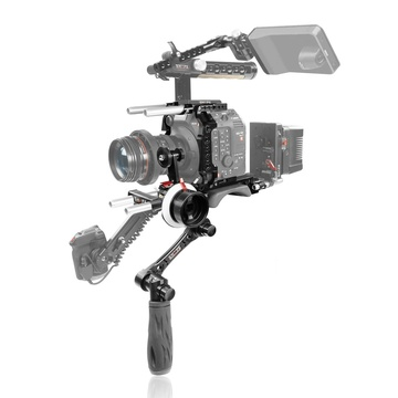 SHAPE Canon C500 Mark II Baseplate with Handle, Cage, Follow Focus Pro