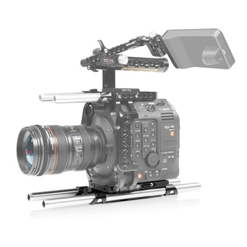 SHAPE Canon C500 Mark II 15mm Lightweight Baseplate