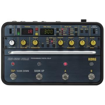 Korg Programmable Digital Delay SDD-3000 Pedal