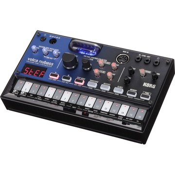 Korg Volca Nubass Vacuum Tube Synthesiser with 16-Step Sequencer