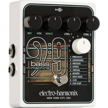 Electro-Harmonix BASS9 Bass Machine Pedal for Electric Guitars