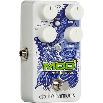 Electro-Harmonix Mod11 Modulator Effects Pedal for Electric Guitar & Bass