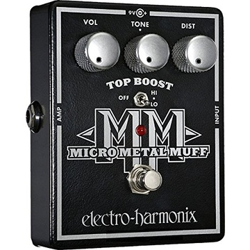 Electro-Harmonix Micro Metal Muff Distortion Pedal