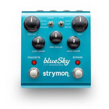 Strymon BlueSky Reverberator Pedal