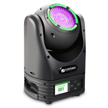 Cameo MOVO BEAM Z100 Unlimited Rotation Beam Moving Head with LED Ring and Zoom