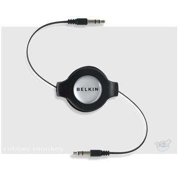 Belkin Retractable Car-Stereo Cable