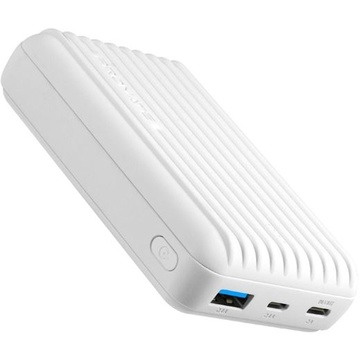 PROMATE Titan-10C Ultra-Compact Rugged Power Bank (White)