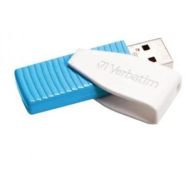 Verbatim Store'n'Go Mini Swivel USB 2.0 Flash Drive 16GB Blue