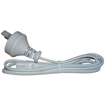 Verbatim 2 Pin Power Plug for T5 Integrated Battens White