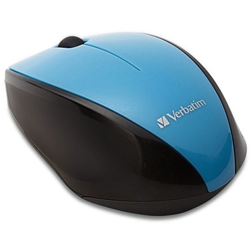 Verbatim Multi-Trac Wireless LED Mouse Blue