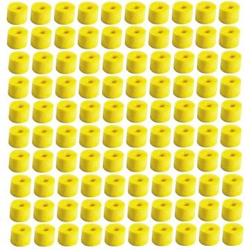 Shure Yellow Foam, 100 Pieces