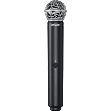 Shure BLX2/SM58 Handheld Wireless Microphone Transmitter with SM58 Capsule
