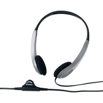 Verbatim Multimedia Headphones with Volume Control