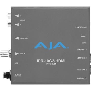 AJA SMPTE ST 2110 IP to HDMI Mini-Converter