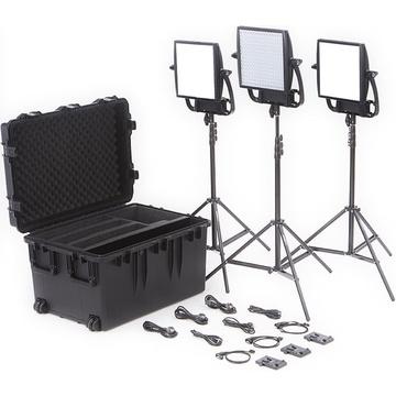 Litepanels Astra Bi-Colour LED Traveler Trio Kit (V-Mount)