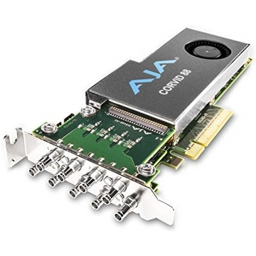 AJA CORVID CRV88-9-T-R0 2 Gen PCIE 8 Channel I/O Card/4K Capable/Tall (Standard)
