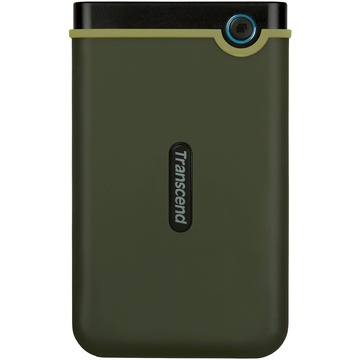 Transcend 2TB USB 3.1 Storejet 25M3 Portable Hard Drive (Military Green)