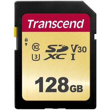 Transcend 128GB 500S UHS-I SDXC Memory Card