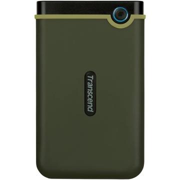 Transcend 1TB USB 3.1 Storejet 25M3 Portable Hard Drive (Military Green)
