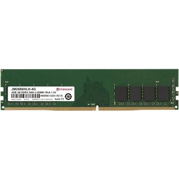 Transcend 4GB JetRam DDR4 2666 MHz CL19 UDIMM Memory Module (512Mx8 Chip)