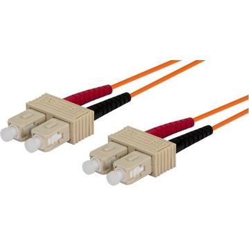 DYNAMIX 2M 50u SC/ST OM3 Fibre Lead (Duplex, Multimode)