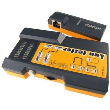 DYNAMIX RJ11/RJ45 Link Tester for UTP, STP, and Modular Cables