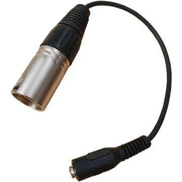 Point Source Audio ADP-PHx5Mm PSA Headset Adapter Cable 3.5mm Female TRRS to 5-Pin Male Mono XLR