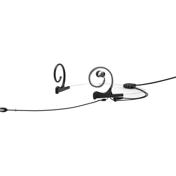 DPA d:fine In-Ear Broadcast Headset Mic, 2-Ear Mount, 1-In-Ear with MicroDot Connector (