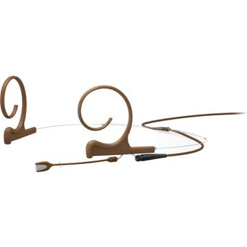 DPA d:fine Core 4166 Slim Omni Flex Headset Mic, 40mm Boom with MicroDot (Brown)
