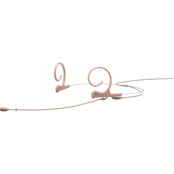 DPA d:fine Core 4288 Directional Flex Headset Mic, 120mm Boom with MicroDot (Beige)