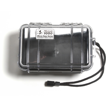 Pelican 1050 Micro Case (Clear/Black)