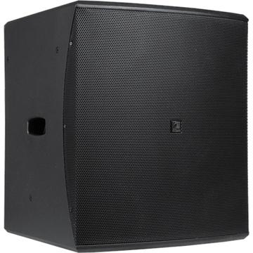 "Audac BASO15 Compact 15"" Bass Reflex Cabinet (Black)"