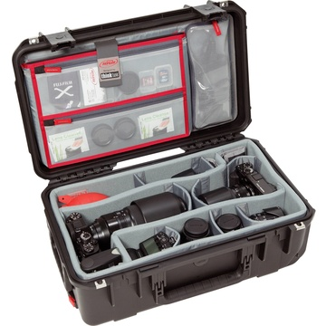 SKB 3I-2011-7DL iSeries Case with Think Tank Photo Dividers and Lid Organizer