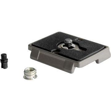 "Manfrotto 200PL Quick Release Plate with 3/8 and 1/4""-20  screw"