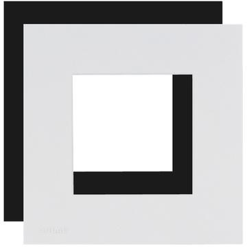 Audac CF45S-B Cover Frame Single 45 X 45 mm (Black)