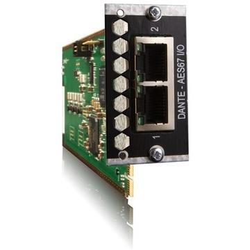 Avid Pro Tools MTRX 128 Channel IP Audio Dante Card
