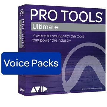 Avid Pro Tools Ultimate - 1280 Voice Pack Perpetual License