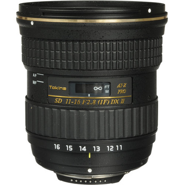 Tokina AT-X 116 PRO DX-II 11-16mm f/2.8 Lens Canon EOS mount
