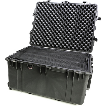 Pelican 1634 Case with Padded Dividers (Black)
